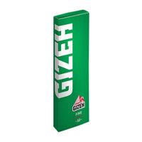 Бумага для самокруток Gizeh Fine Green