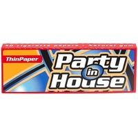 Бумага для самокруток Party in House Red