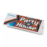 Бумага для самокруток Party in House White Fine