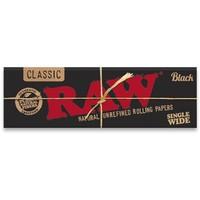 Бумага для самокруток Raw Classic Black