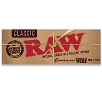 Бумага для самокруток Raw Connoisseur Classic FTips