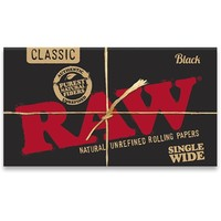 Бумага для самокруток Raw Double Classic Black