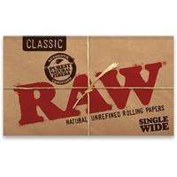 Бумага для самокруток Raw Double Classic