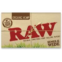 Бумага для самокруток Raw Double Organic Hemp