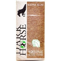 Фильтры для самокруток Dark Horse Pre-cut Extra Slim Bio (120 шт.)