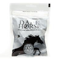 Фильтры для самокруток Dark Horse Slim Carbon (120 шт.)
