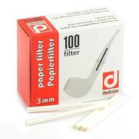 Фильтры для трубок Denicotea бумажные 100 шт.