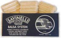 Фильтры для трубок Savinelli Balsa 15 шт.