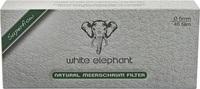 Фильтры для трубок White Elephant пенковые 45 шт.