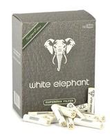 Фильтры для трубок White Elephant SuperMIX пенка-уголь 150 шт.