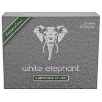 Фильтры для трубок White Elephant SuperMIX пенка-уголь 40 шт.
