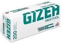 Гильзы для набивки Gizeh Menthol (200 шт.)