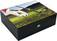 Хьюмидор Aficionado 9 IRON 3D на 75 сигар