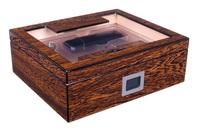Хьюмидор Lubinski на 60 сигар со стеклом и подарочным набором Железное дерево QB509