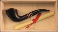 Курительная трубка Butz Choquin Мушкетеры Aramis Noir
