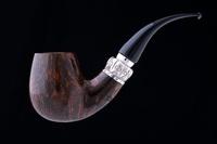 Курительная трубка Fiamma di Re 1 Corona с фигурным кольцом F691-1
