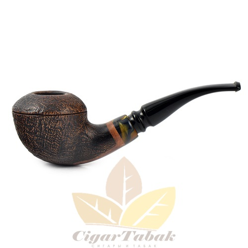 Курительная трубка Maestro Pipes SandBlast 016 9мм