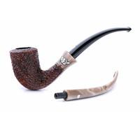 Курительная трубка Mastro de Paja Oliva c двумя мундштуками M081-1