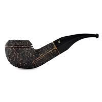 Курительная трубка Peterson Aran Rustic 80s 9мм