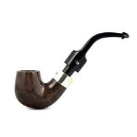 Курительная трубка Peterson De Luxe System Dark Smooth 12.5