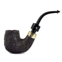 Курительная трубка Peterson House Pipe Sandblasted Bent P-Lip