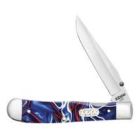 Нож перочинный Zippo Patriotic Kirinite Smooth Trapperlock 50593
