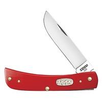 Нож перочинный Zippo Red Synthetic Smooth Sodbuster Jr 50517