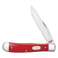Нож перочинный Zippo Red Synthetic Smooth Trapper 50518