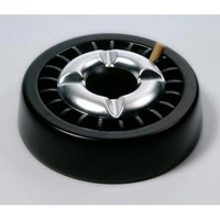 Пепельница черная 40712А