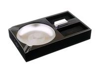 Пепельница сигарная Colibri на 3 сигары Windsor Черное дерево AT200C1