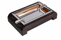 Пепельница сигарная Gentili 930-Croco-black-ebony
