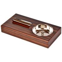 Пепельница сигарная Tom River Эбеновое дерево 812/EB