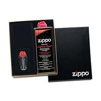Подарочная коробка Zippo (кремни, топливо 125 мл, место для зажигалки) 50R