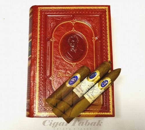 Подарочный набор сигар Евгений Онегин Легенда No 2 (15 сигар)