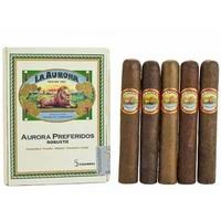 Подарочный набор сигар La Aurora Preferidos Robusto Selection box (5 сигар)