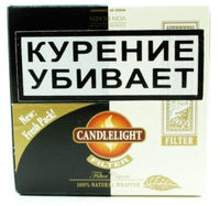 Сигариллы Candlelight Filter Assorty Aromatic+Coconut 25+25