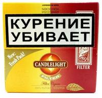 Сигариллы Candlelight Filter Assorty Vanilla+Cherry 25+25