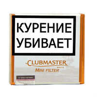 Сигариллы Clubmaster Mini Filter White 20 шт