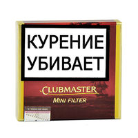 Сигариллы Clubmaster Mini Red (Vanilla) 20 шт