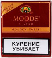 Сигариллы Moods Filter Golden Taste 10