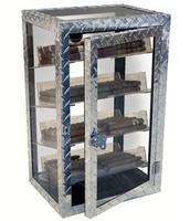 Сигарный шкаф Aficionado Diamond Plate на 250 сигар