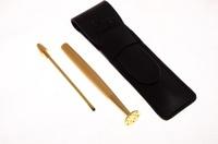 Тампер для трубки Lubinski Revolution золотистый (тройник) F41