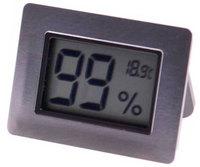 Термо-гигрометр Серебро 596-521