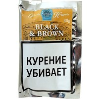 Трубочный табак Gawith and Hoggarth Black and Brown 40 гр.