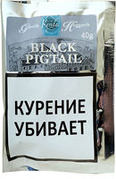Трубочный табак Gawith and Hoggarth Black Pigtail 40 гр.