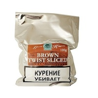 Трубочный табак Gawith and Hoggarth Brown Twist Sliced 100 гр.