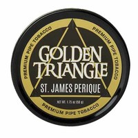 Трубочный табак Hearth and Home Golden Triangle Series St. James Perique 50 гр.