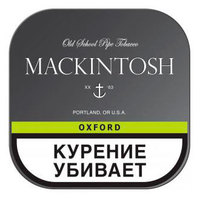 Трубочный табак Mackintosh Oxford банка 40 гр.