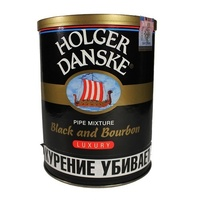 Трубочный табак Planta Holger Danske Black and Bourbon 200 гр.