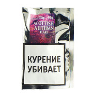 Трубочный табак Stanislaw Scottish Autumn Flake 40 гр.